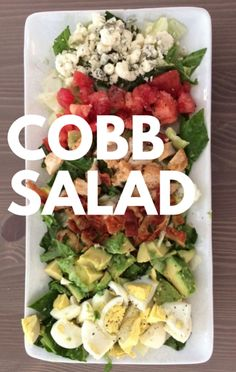 Rachael Ray's Gem Lettuce and Cob Salad recipe is the perfect example of a healthy, balanced meal that will leave you anything but hungry! This tasty meal includes everything from bacon and blue cheese to hard-boiled eggs and avocado!