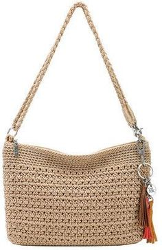 New Cheap Bags. The place where construction meets design, beaded crochet is the act of using beads to embellish crocheted items. Crochet is derived from the French crocThe Sak Women's Casual Classics Demi Crochet Tote, Crochet Handbags, Crochet Purses, Bead Crochet, Crochet Stitches, Crochet Patterns, Best Leather Wallet, Crochet Round, Cheap Bags
