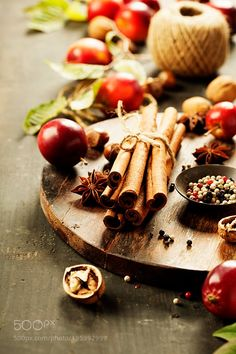 #food #uk Apples and spices by klenova https://twitter.com/buydianaboluk