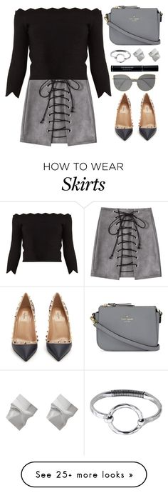 """""""Ootd"""" by simona-altobelli on Polyvore featuring Alexander McQueen, Valentino, Kate Spade, Christian Dior and RetroSuperFuture"""