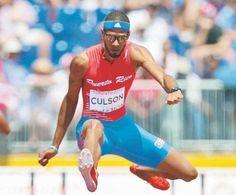 El vallista boricua Javier Culson llega segundo en carrera 400...