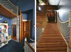 Ultimate Pirate Ship Bedroom by Kuhl Design Build | HomeDSGN