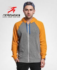 http://www.ready-one.com/mens-zipper-hoodie-with-contrast-sleeves.html
