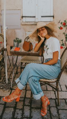Summer Outfit Inspiration Source by smaracuja europe outfits Mode Outfits, Casual Outfits, Fashion Outfits, Womens Fashion, Fashion Trends, Summer Outfits Boho Chic, Bright Summer Outfits, Europe Outfits Summer, Earthy Outfits