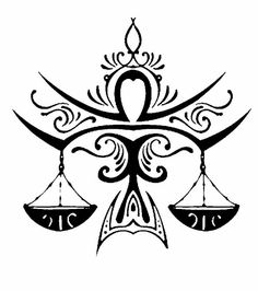 Astrology Tattoo, Libra Tattoo, Astrology Signs, Future Tattoos, New Tattoos, Tribal Tattoos, Tatoos, Libra And Sagittarius, Libra Sign