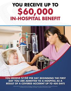 If an accident leads to you being hospitalized, this benefit pays you upto $60,000.  Monies all paid to you, as the member.  Speak with our licensed agent for more details and signup today. www.safetybenefits.info/powered-by-nmc.html