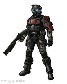 Hoo-ah! Halo 5, Halo Game, Halo Spartan Armor, Halo Armor, Armor Concept, Concept Art, Halo 3 Odst, John 117, Close Quarters Combat