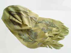 "Filzschals - Schal handgefilzt Merino ""Meeresalgen"" - ein Designerstück von SweetDecor bei DaWanda"