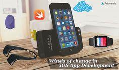 Winds of change in iOS App Development - Prismetric Wind Of Change, App Development, Ios App