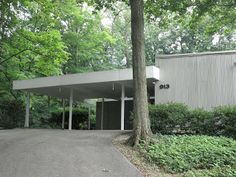 Cincinnati Modernation. Carport design.