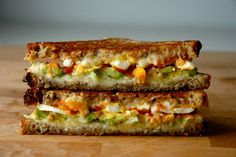 Avocado, Hard-Boiled Egg & Sriracha Grilled Cheese: It's true that you can put sriracha on just about everything and make it better. This jam-packed grilled cheese is no exception. (via Grilled Cheese Social)