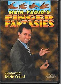 FINGER FANTASIES MEIR YEDID'S DVD MAGIC TRICKS Collectibles:Fantasy, Mythical & Magic:Magic:Tricks www.webrummage.com $14.99