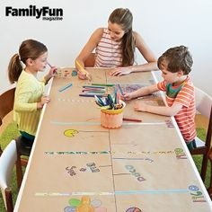 Call it a reunion or call it a weekend with the cousins. However big or small your family affair, we've got ideas to keep the whole gang entertained: a multi-generational game, crowd-pleasing food, memory-making apps, and more. Family Reunion Activities, History Activities, Family Games, Activities For Kids, Family Reunions, Group Games, Group Activities, Family Gatherings, Indoor Activities