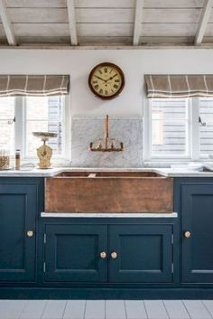 Best rustic kitchen sink farmhouse style ideas (18)