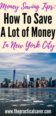 How to save money in New York City. These tips and tricks can or will save you money when in New York. travel tips l save money on travel l travel on budget l budget travel