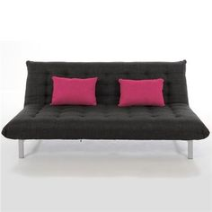Charlie Click Clack Sofa Bed - New York Anthracite