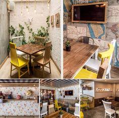 Cafetería con estilo Shabby Chic