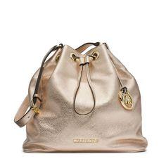6f40ddf5222317 MICHAEL Michael Kors Jules Large Drawstring Shoulder Bag Gold Michael Kors  Shoulder Bag, Michael Kors