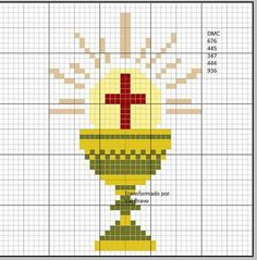 Jesus with heart x-stitch Cross Stitching, Cross Stitch Embroidery, Catholic Crafts, Hand Work Embroidery, Christian Symbols, Holy Cross, Crochet Cross, Modern Cross Stitch Patterns, Counted Cross Stitch Kits