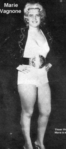 Marie Vagnone - Female Wrestling