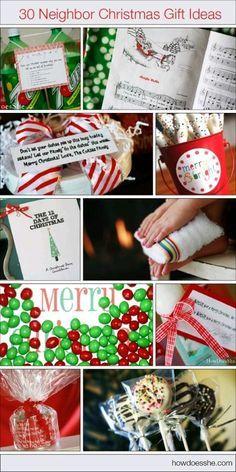 186 Neighbor Christmas Gift Ideas