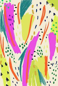 Ashley Goldberg / Abstract Pattern / Painting