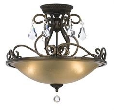 Buy the Crystorama Lighting Group English Bronze / Hand Cut Direct. Shop for the Crystorama Lighting Group English Bronze / Hand Cut Ashton 3 Light Wide Semi Flush Bowl Ceiling Fixture with Hand Cut Crystal and save. Crystal Ceiling Light, Ceiling Light Fixtures, Ceiling Lights, Room Lights, Ceiling Fans, Flush Mount Lighting, Flush Mount Ceiling, Bronze Finish, English