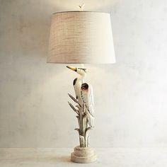 Crane Table Lamp Gray