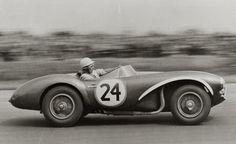 Aston Martin.... love watching old races!