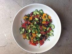 Moroccan Mixed Salad Plate - Chef Briana Ryan