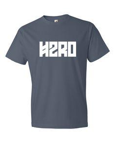 H2RO White Logo Mens Tee Shirt
