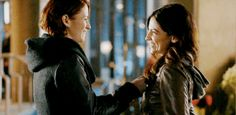 Sanvers kiss 2x17 - Alex Danvers - Maggie Sawyer - Supergirl