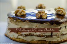 Valnøddekage fra Svinkløv Badehotel Low Carb Keto, Lchf, Tiramisu, Tart, Sweet Tooth, Ice Cream, Healthy Recipes, Healthy Food, Pudding