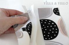 Villa ja Villa: DIY meikkipussi tai pussukka (versio 2) Diy Bags Purses, Sneakers, Villa, Fashion, Home Crafts, Tennis, Moda, Slippers, Fashion Styles