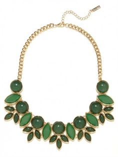 Green Bellflower Collar