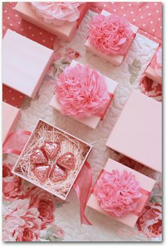 PINK gift wrapping