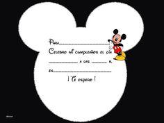 Tarjetas De Cumpleaños 40 Para Imprimir Gratis 16 HD Wallpapers                                                                                                                                                                                 Más Mickey Mouse Birthday Theme, Fiesta Mickey Mouse, Baby Mickey Mouse, Mickey Birthday, 1st Birthday Girls, Elmo Party, Mickey Party, Dinosaur Party, Dinosaur Birthday