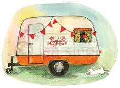 GLAMPING~retro camper