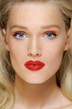 red orange lipstick - Google Search