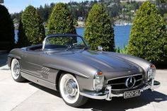 Let's road trip the Amalfi Coast!  Our neighbor had one of these.  It had gullwing doors!  It was a wow!