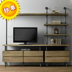 Image result for iron pipe desk