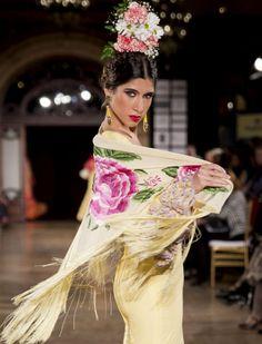 Desfile de Ángeles Copete en We love Flamenco 2016. Alberto Sualis