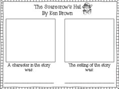 Scarecrow's Hat - character and setting freebie