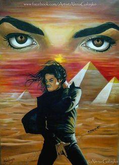 by Alena Galayko Michael Jackson Drawings, Michael Jackson Images, Paris Jackson, Lisa Marie Presley, Elvis Presley, Angeles, Michael Art, Black Art Pictures, King Of Music