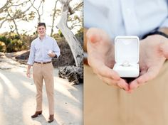 the anticipation. love this groom captured in the moments before he pops the question