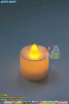 Lilin LED Flameless Sedang 0896 7465 4330/ 0818 22 5376 ( WA/telpon ) #LilinLED #HargaLED #SouvenirPernikahanMurah