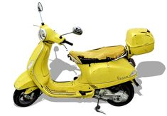 Vespa, Retro Car, Isolated, Roller Vespa Retro, Retro Cars, Sportster Motorcycle, Harley Davidson Motorcycles, Interior Accessories, Car Accessories, Motor Scooters, Car Images, Car Wheels