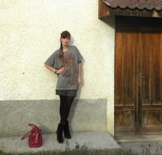 http://thefashionamy.blogspot.it/2013/11/outfit-colori-d-autunno-carp-matite.html #maxitee #carp #unisex #style #fashion