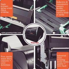 Kenapa Harus barcode printer postek untuk mensupport bisnis anda ??? * Anda bisa menggunakan bermacam jenis label sesuai dengan kegutuhan anda. dengan operasional yang mudah. * kapasitas loading ribbon barcode s/d 300 Meter, dengan teknologi roller ribbon anti kusut. menjamin kualitas hasil cetak tajam dan mengurangi pemborosan penggunaan ribbon. * External roller label, untuk mempermudah anda menggunakan oading label dengan kapasitas yang lebih besar. Support & distribusi  Jkt : 021-6010197