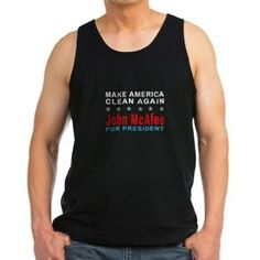 McAfee - Make America Clean Again Tank Top